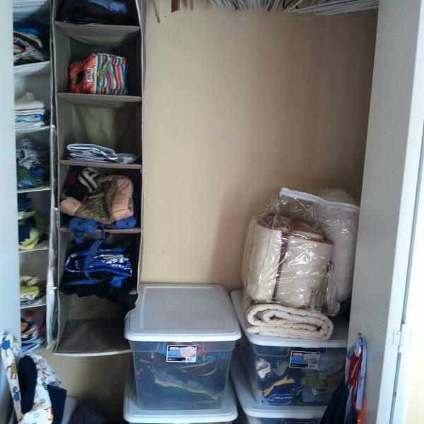 Baby closet After